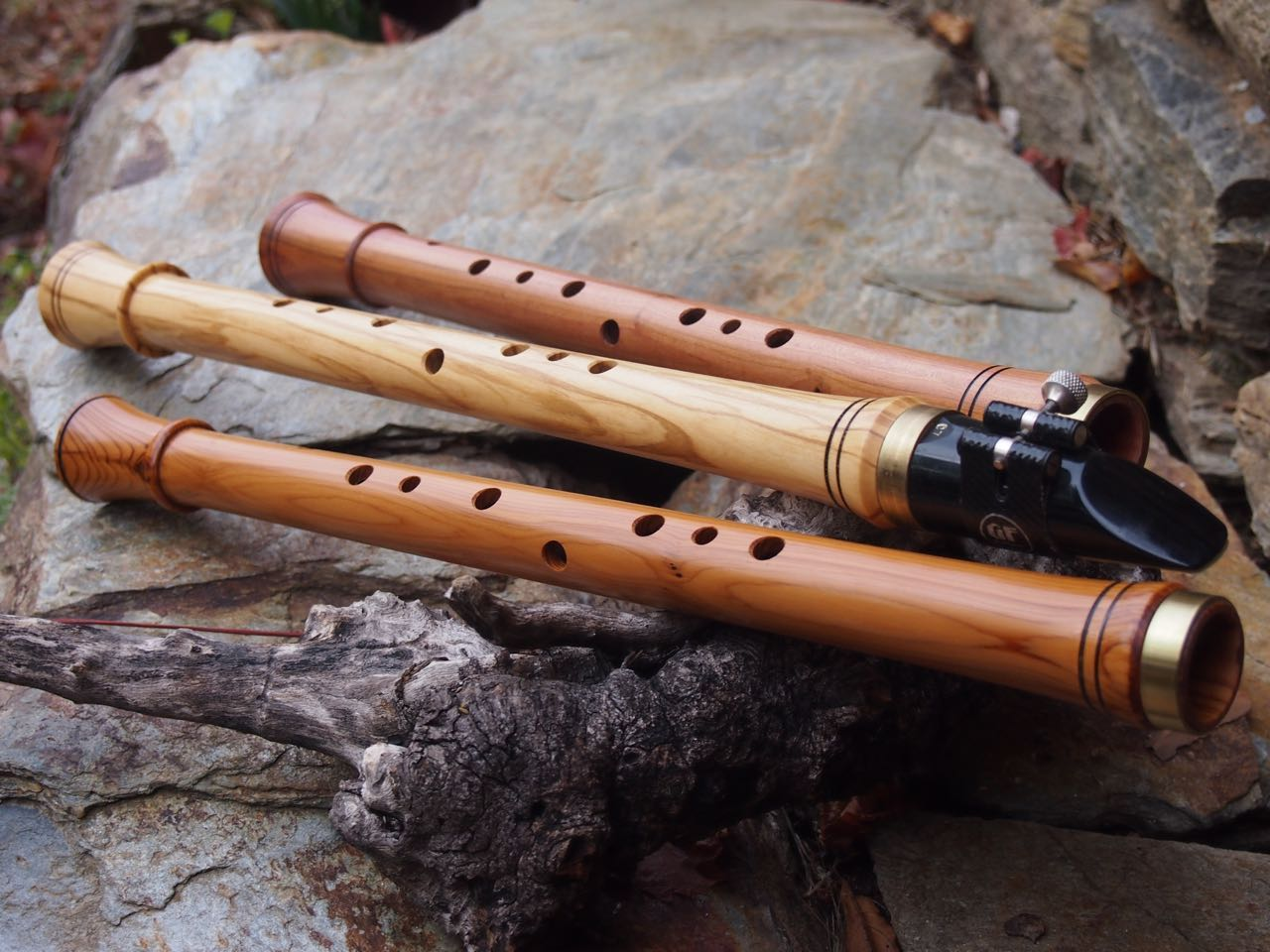 Chalumeau, the predecessor to the modern-day clarinet with 9 toneholes