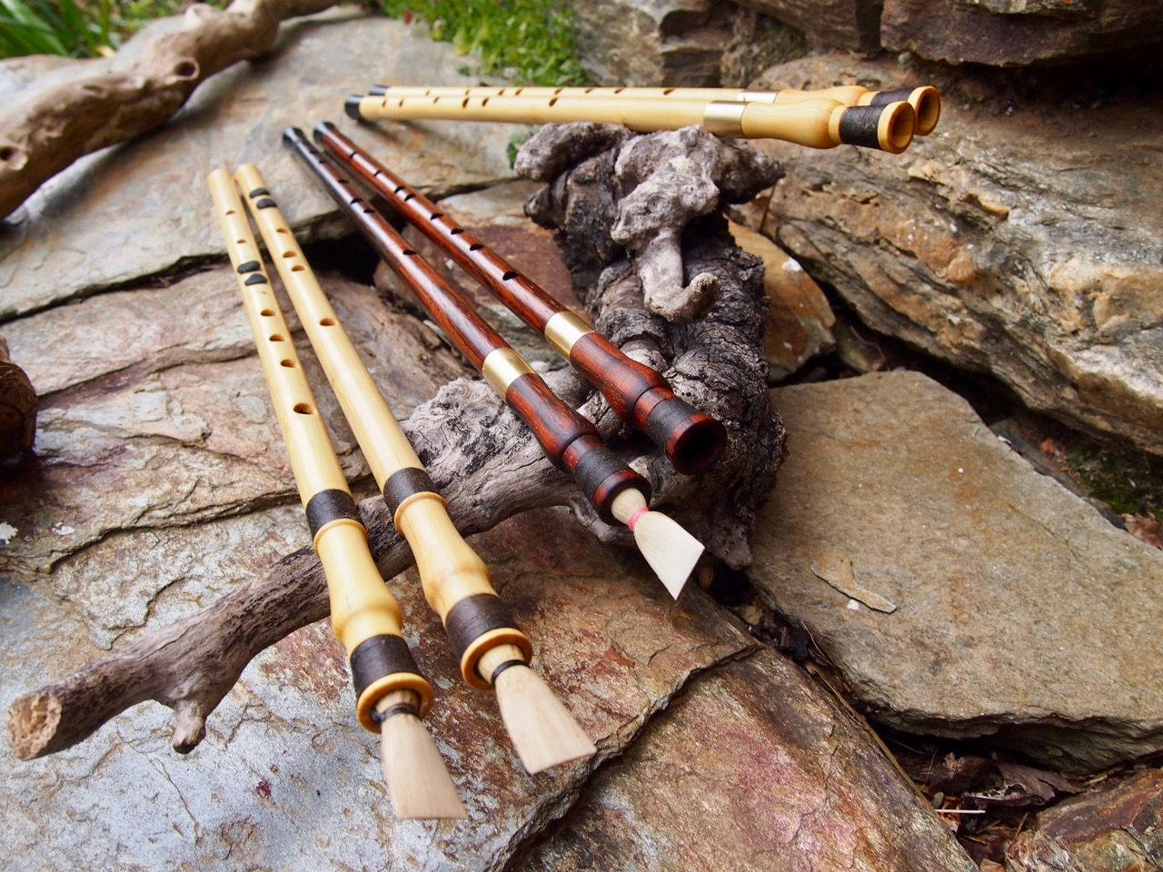 Ancient Greek Aulos Auloi und Tibia | Max Brumberg Flutes