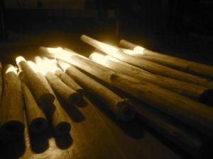 Holunderholz für den Flötenbau