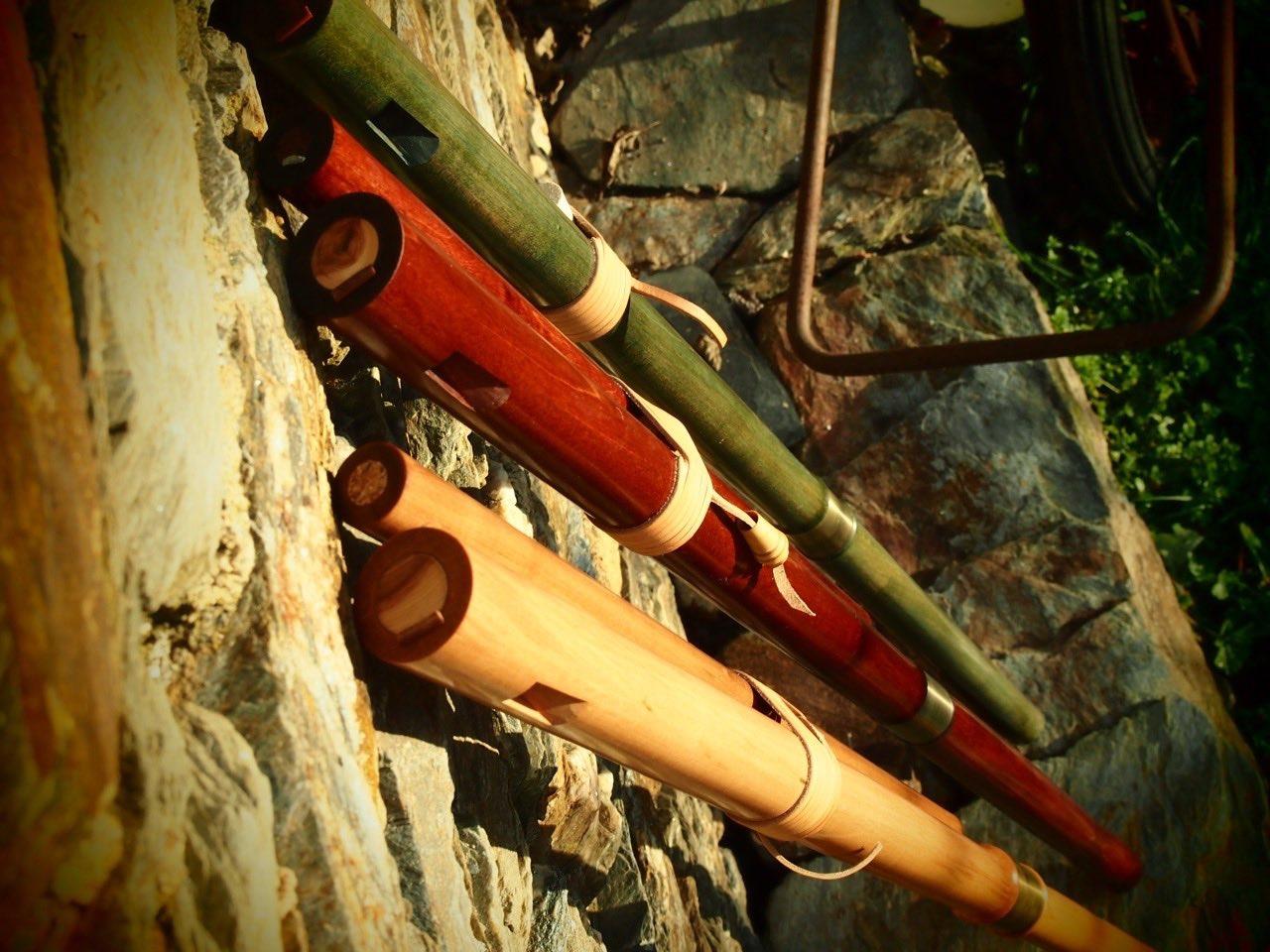 teilbare Bass-Obertonflöten