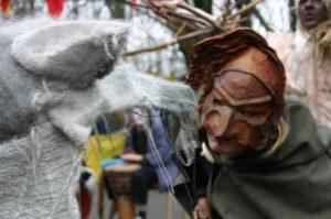 Pan und der Wolf Gauklerspektakel